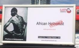 Slavery Remembrance Billboard