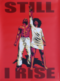 I Rise Poster Red