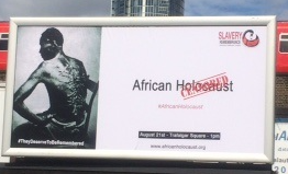 Slavery Remembrance Billboard