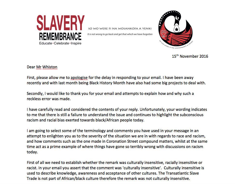 African Holocaust Foundation Slavery Remembrance