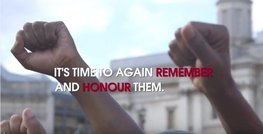 African Holocaust Memorial 2017