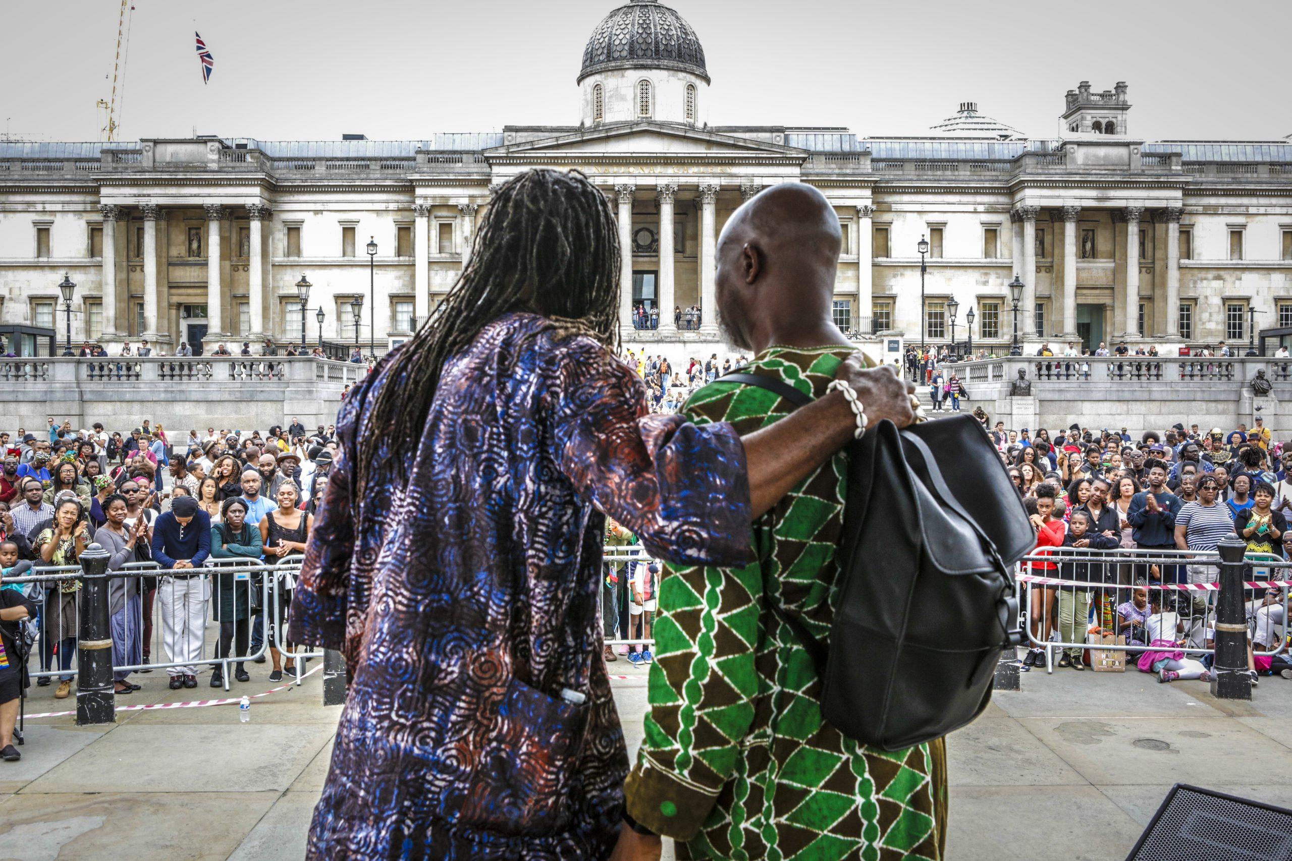 Toyin Agbetu & Dr. Lez Henry - Image by Paul Bankole Iwala